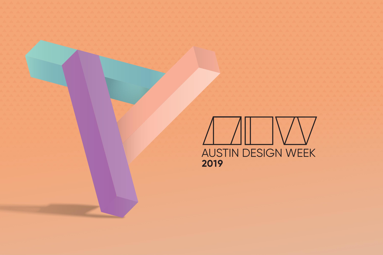 Austin Design Week 2019 Logo